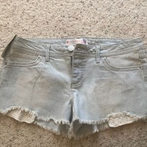 NWT Cut off denim shorts size 9
